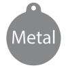 Medal judo/karate D112D - Materiały