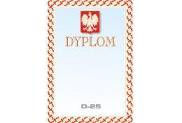 Dyplom papierowy Polska D25 - Victory Trofea