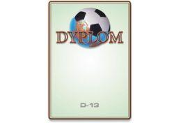 Dyplom papierowy piłka nożna D13 - Victory Trofea