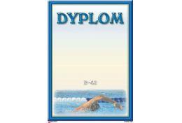 Dyplom papierowy pływanie D42 - Victory Trofea