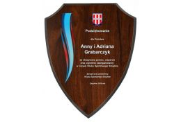 Dyplom drewniany tarcza H74 - Victory Trofea