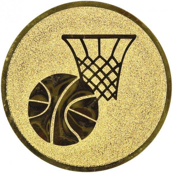 Emblemat koszykówka 25/50 mm