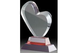 Statuetka szklane serce W1313 - Victory Trofea