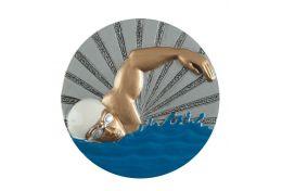 Emblemat odlewany pływanie BL.07 - Victory Trofea