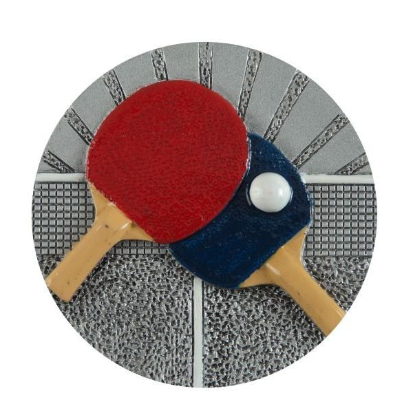 Emblemat tenis stołowy 70 mm