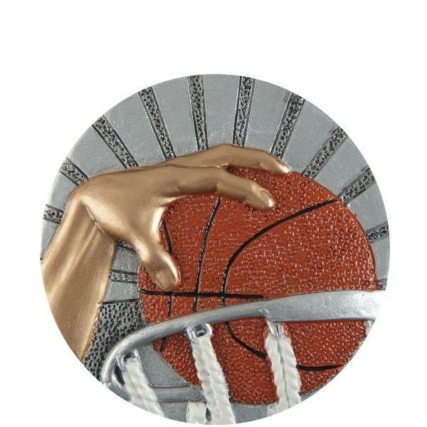 Emblemat koszykówka 70 mm