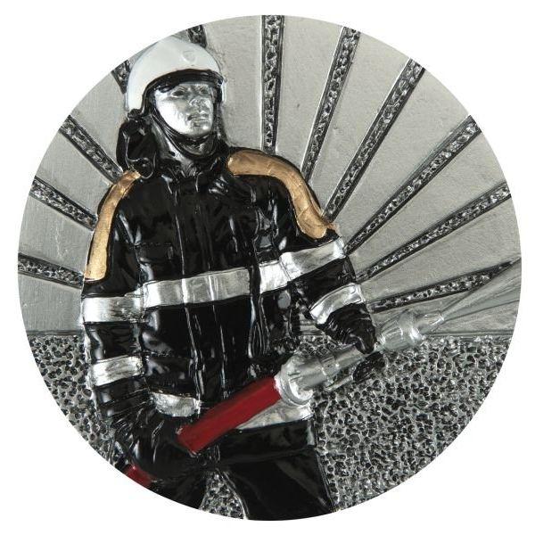 Emblemat strażak 70 mm
