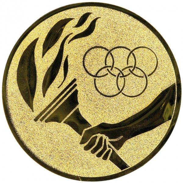 Emblemat znicz olimpijski 25/50 mm