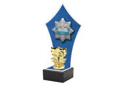 Statuetka z logo policji X361/POL - Victory Trofea