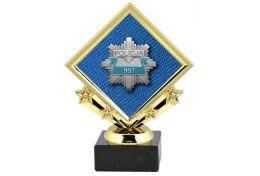 Statuetka z logo policji X509/POL - Victory Trofea
