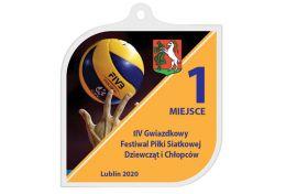 Medal siatkówka MAK001.PS - Victory Trofea