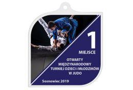 Medal judo MAK001.SW - Victory Trofea
