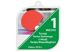 Medal tenis stołowy MAK001.TS - Victory Trofea
