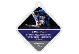 Medal judo MAK002.SW - Victory Trofea