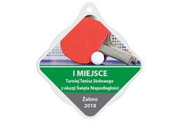 Medal tenis stołowy MAK002.TS - Victory Trofea