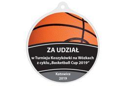 Medal koszykówka MAK003.KOSZ - Victory Trofea