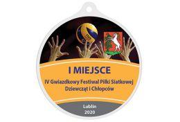 Medal siatkówka MAK003.PS - Victory Trofea