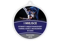 Medal judo MAK003.SW - Victory Trofea
