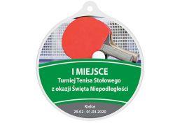Medal tenis stołowy MAK003.TS - Victory Trofea