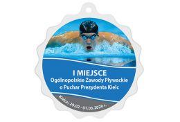 Medal pływanie MAK004.SWIM - Victory Trofea