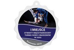 Medal judo MAK004.SW - Victory Trofea