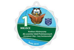 Medal dla ucznia MAK004.SZKO - Victory Trofea