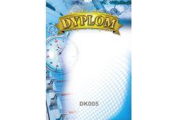 Dyplom papierowy pływanie DK005 - Victory Trofea