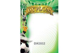 Dyplom papierowy piłka nożna DK002 - Victory Trofea