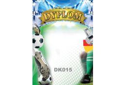 Dyplom papierowy piłka nożna DK015 - Victory Trofea