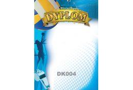 Dyplom papierowy siatkówka DK004 - Victory Trofea