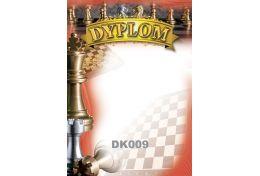 Dyplom papierowy - szachy DK009 - Victory Trofea