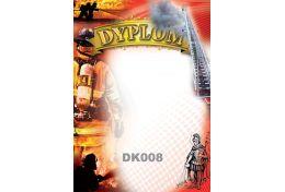 Dyplom papierowy strażacki DK008 - Victory Trofea