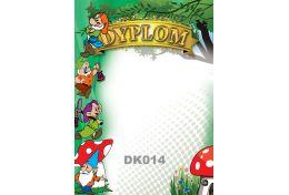 Dyplom papierowy przedszkolny dla najmłodszych DK014 - Victory Trofea