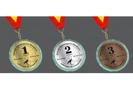 Medal wędkarski MWG70 - LG - Victory Trofea