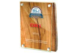 Dyplom drewniano szklany PK.HGL702 - Victory Trofea