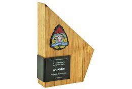 Statuetka drewniana Straż Pożarna PSM.H601 PSP - Victory Trofea