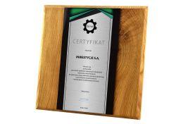 Dyplom drewniany PW.H35 - Victory Trofea