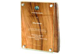 Dyplom drewniano szklany PW.HGL702 - Victory Trofea
