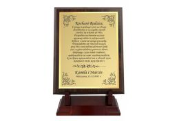 Dyplom drewniany dla rodziców PSR.W154.S - Victory