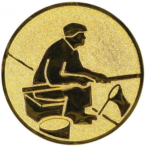 Emblemat wędkarz 25/50 mm