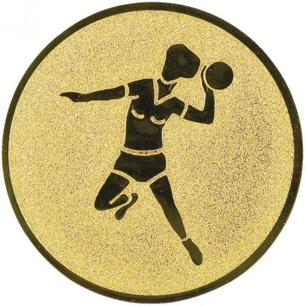 Emblemat piłka ręczna 25/50 mm